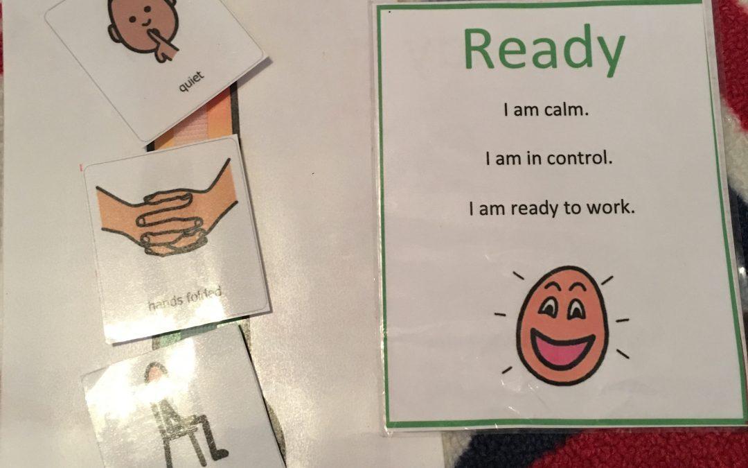 Freebie Friday:  Words vs tantrum.