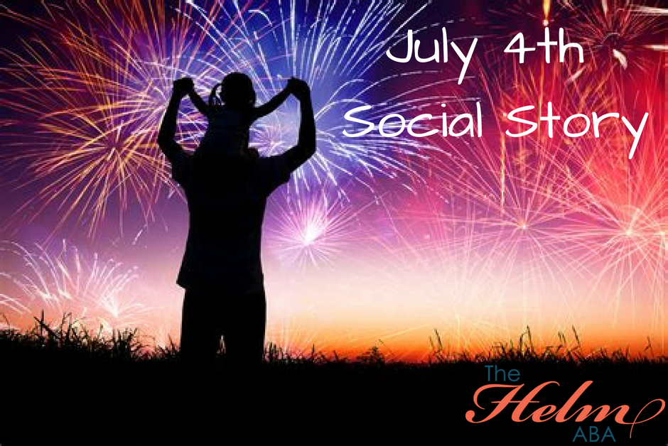 Freebie Friday: July 4th Social Story