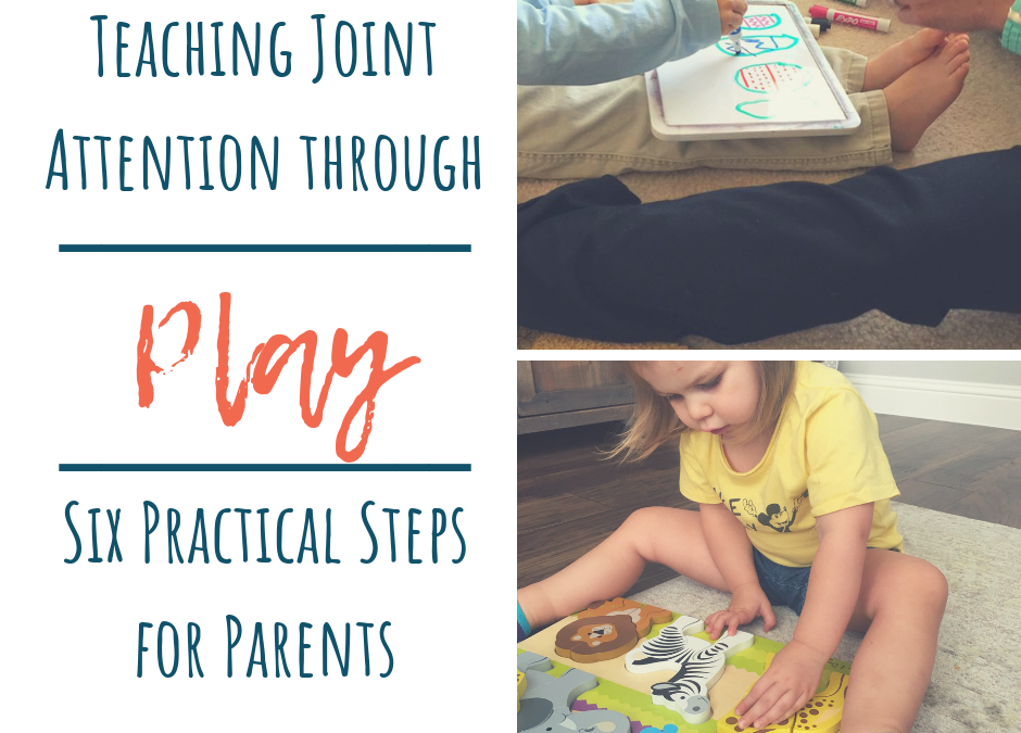 Teaching Joint Attention Through Play