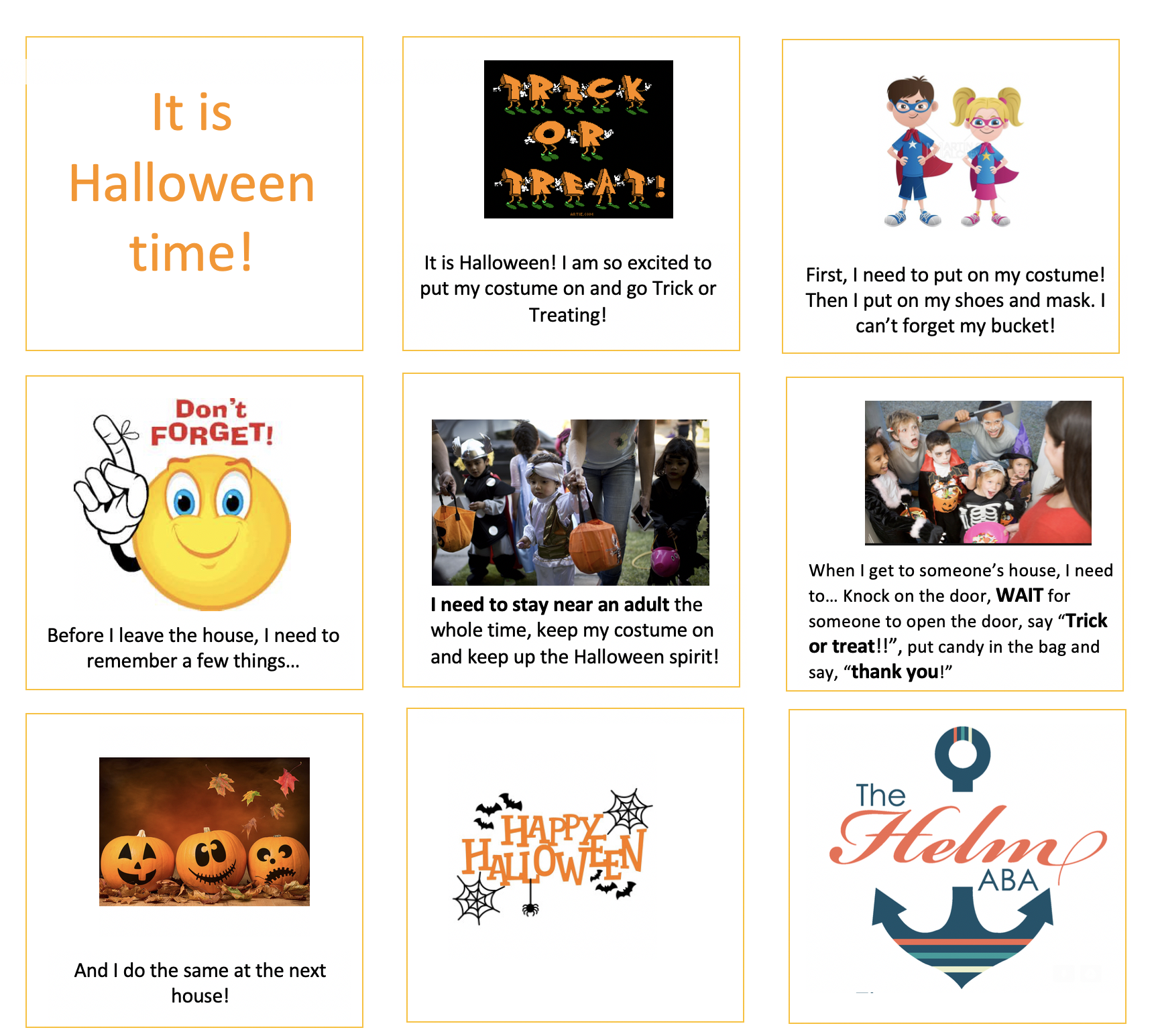 Navigating Halloween for Children with Autism